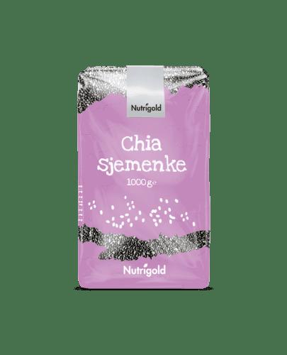 Chia sjemenke 1000g Nutrigold