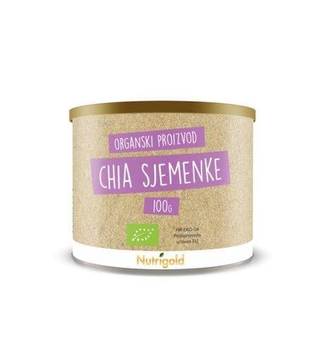 Chia sjemenke - Organske 100g Nutrigold