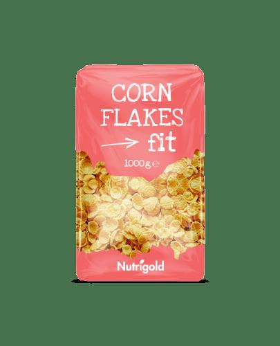 Cornflakes Fit bez dodanog šećera - 1000g Nutrigold