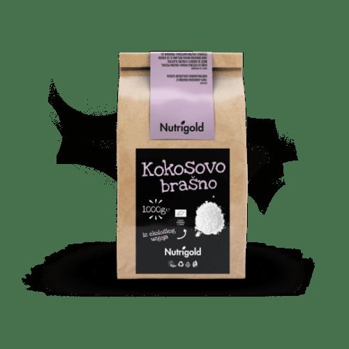 Kokosovo brašno - Organsko 1000g Nutrigold