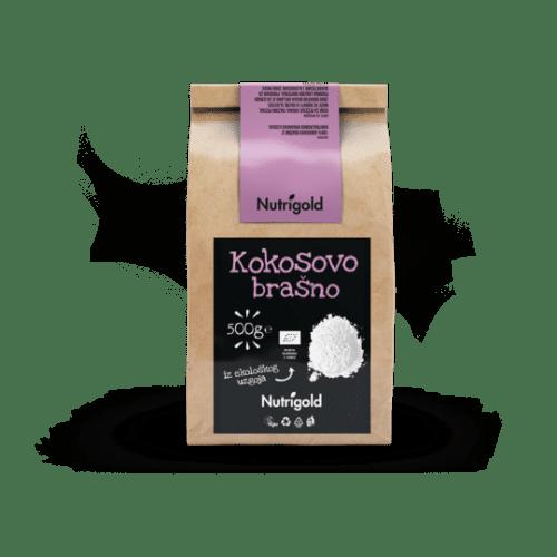 Kokosovo brašno - Organsko 500g Nutrigold